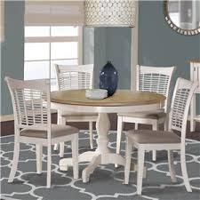 Hillsdale Bayberry White 5791DTBC White <b>Five Piece Dining</b> Set ...
