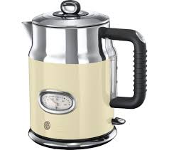 Currys Small Kitchen Appliances Buy Russell Hobbs Retro Vintage N21672 Jug Kettle Cream Free