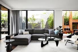 interior design. A Contemporary, Monochromatic Home In Melbourne By Sisalla Interior Design Milk