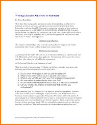 10 Best Summary For Resume Quit Job Letter