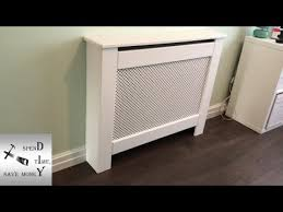 how to make a simple radiator cover shaker style