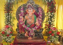 theme decorating ideas for ganesh chaturthi interior designing ideas