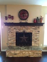 fireplace refacing kits stone stacked stone fireplace stacked stone fireplace with granite hearth for the home