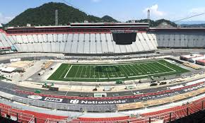 Holding A Football Game At Bristol Motor Speedway Looks Like