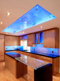 backsplash lighting. example of a trendy kitchen design in ottawa with an undermount sink flatpanel backsplash lighting y