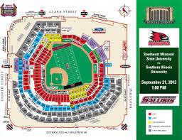 football at busch stadium  st louis cardinals