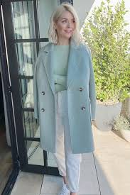 Born 10 february 1981) is an english television presenter, model and author. Holly Willoughby Just Wore An M S Coat Who What Wear Uk
