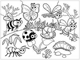 Looking for christmas coloring pages? Insects Free Printable Coloring Pages For Kids