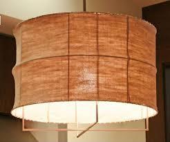 fabric pendant lighting. Pendant Light Fabric Shade Lighting