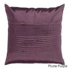 Anthology King Quilt in Plum Vine from Bed Bath & Beyond ... & Pleated Square 22-inch Decorative Pillow Adamdwight.com