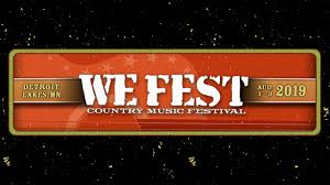 We Fest At Soo Pass Ranch On 1 Aug 2019 Ticket Presale
