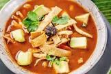 azteca  tortilla chip  soup