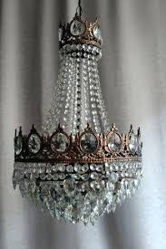 small antique crystal chandelier impressive