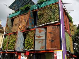 Small Picture Vertical Garden as Solution for Small Minimalist House Vertical