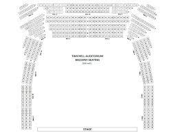 Twichell Auditorium Seating Chart Twichell Auditorium Converse College
