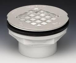 new shower drain installed but gasket not sealing shower drain 42097 jpg