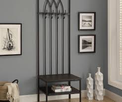 Metal Entryway Bench With Coat Rack Mudroom Small Coat Rack Bench White Entryway Bench Entryway Coat 27