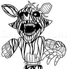 Mangle And Foxy Coloring Pages Tesouroliterariocom