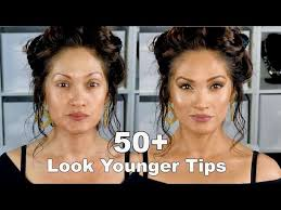 look younger with makeup tips full