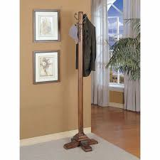 Traditional Dark Walnut Finish Wood Coat Rack Interesting Traditional Dark Walnut Finish Wood Coat Rack 32 Best Coat Rack