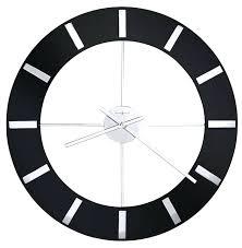 oversized wall clocks contemporary miller onyx large contemporary wall clock big wall clocks contemporary