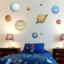 solar system wall stickers planets