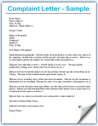 complaint letters discrimination complaint letter to management  complaint letters complaint letter samples writing professional letters complaint letters to companies sample complaint letters