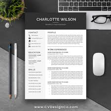 Best Selling Office Word Resume Cv Templates Cover Letter