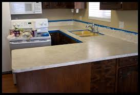 image of painting kitchen countertops