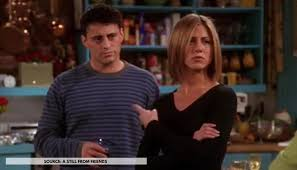 The friends continue to haphazardly navigate their way through manhattan, landing in more improbable situations than anyone has a right to imagine. 26 Years Of Friends Did You Know Joey Had A Real Life Crush On Rachel