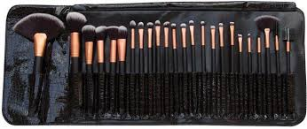rio professional make up brush set