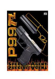 Пистолет Special Agent P99 25-зар Gun, с глуш, 298mm: цвет ...