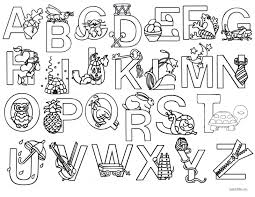 Select from 35478 printable coloring pages of cartoons, animals, nature, bible and many more. Free Printable Coloring Pages Abc Letters Page 1 Line 17qq Com
