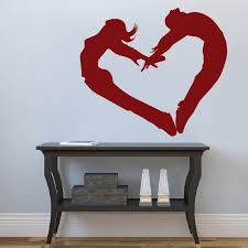 people heart wall cling zoom on wall art heart designs with people heart wall cling trendy wall designs
