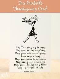 Printable Thanksgiving Cards Friday Freebie Printable Thanksgiving Card Life Love And