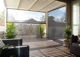 custom patio blinds. Custom Patio Blinds: Ozrite Awnings Outdoor Blinds In Capalaba With Brisbane R