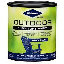 wolman 1 qt navy blue outdoor