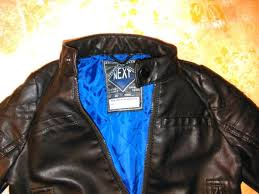 kids leather jacket next brand for boys children leather coat size 3 years