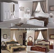 italian furniture bedroom sets. beautiful 6pcs luisa italian bedroom set in 5 different colours italian furniture bedroom sets p