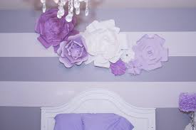Homemade Paper Flower Decorations Diy Large Paper Flowers
