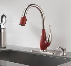 a faucet with a mixed finish is a bold design choice