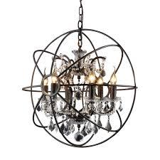 creative home design excellent y decor hannah 6 light rustic black chandelier lz27246 the home