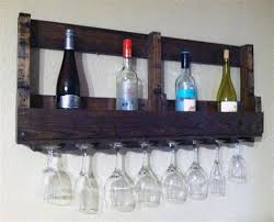 pallet wine glass rack. Pallet Wine Glass Rack. Recycled Rack