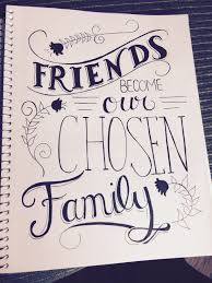 Friend Quote Calligraphy Handlettering Handlettering