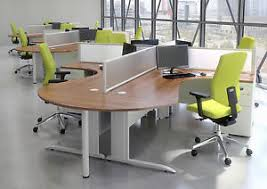 office desk workstation. Image Is Loading Office-desks-Workstation-Corner-desk-4-person-desk- Office Desk Workstation