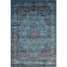 Persian rugs Living Room Persian Rugs Antique Styled Multi Colored Blue Base Area Rug 7x2710 Darbylanefurniturecom Shop Persian Rugs Antique Styled Multi Colored Blue Base Area Rug