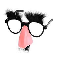 Fuzzy Games co Glasses Eyebrows Nose Toys amp; Amazon Groucho uk And Mustache