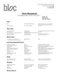 Dance Resume Templates Dance Resumes Format Dance Resume Format Dance Resume  Sample