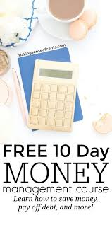 Free Money Management Course Master Your Money Managing Your