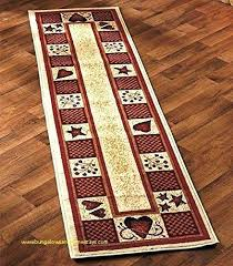 country rug runners kitchen rugs and runners for home design new decorative country runner hearts